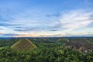 Chocolate hills, Bohol, Philippines - CUF32713