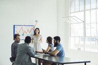Business people in brainstorming meeting - ISF12037