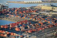 Shipping port, Los Angeles, California, USA - ISF12373