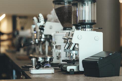 Espresso maker in a coffee bar - OCAF00320