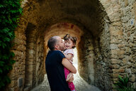 Father kissing his daughter - GEMF02086