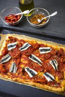 Pizza Marinara with anchovies - GIOF03971