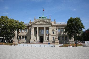 France, Alsace, Strasbourg, Palais de Justice - KLRF00607