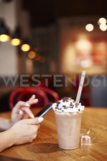 Plastic cup of iced coffee - ABIF00648