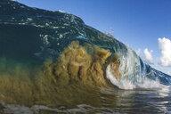 Barrelling wave, Hawaii, USA - ISF14216