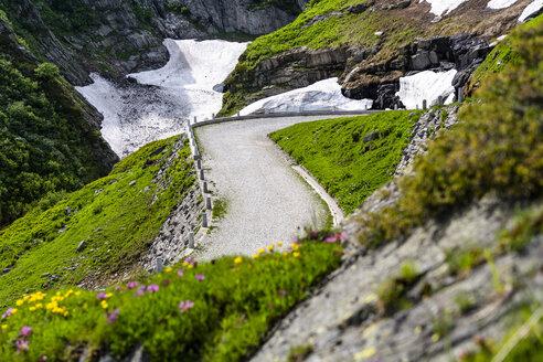 Switzerland, Ticino, Tremola, Gotthard Pass - STSF01643
