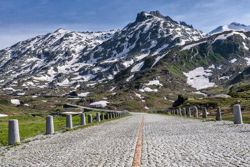 Switzerland, Canton of Uri, Tremola, Gotthard Pass - STSF01646