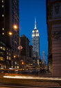 Street view of New York with Empire State Building in view - CUF35616