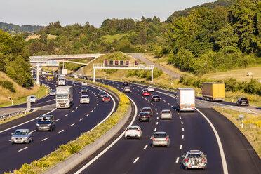 Germany, Baden-Wuerttemberg,  Leonberg, motorway A 8 - WDF04701