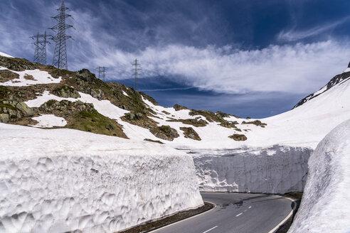 Switzerland, Valais, Nufenen Pass - STSF01661