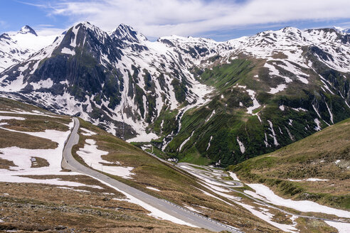 Switzerland, Valais, Nufenen Pass - STSF01664