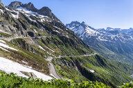 Switzerland, Canton of Uri, Susten Pass - STSF01676