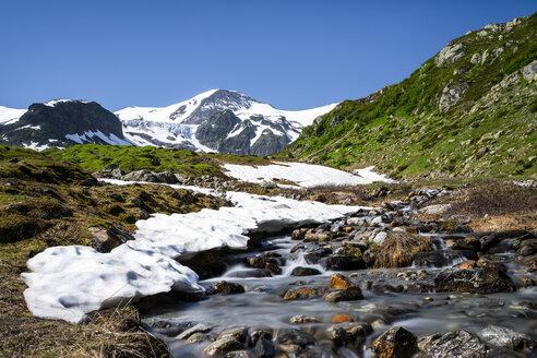 Switzerland, Canton of Bern, Stein Glacier, Steinwasser - STSF01679