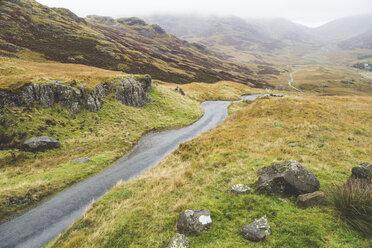 United Kingdom, England, Cumbria, Lake District, Hardknott pass - WPEF00544