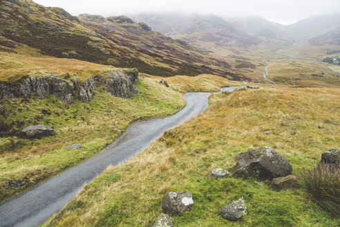 United Kingdom, England, Cumbria, Lake District, Hardknott pass - WPEF00544