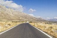 Greece, Peloponnese, Mani peninsula, empty road - MAMF00125
