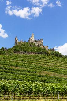 Austria, Lower Austria, Wachau, Kremstal, Senftenberg, Castle ruin Senftenberg - WWF04237