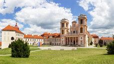 Austria, Lower Austria, Mostviertel, Wachau, Goettweig monastery - WWF04243