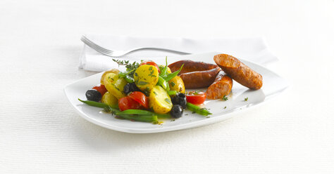 Mediterranean potato salad with Chorizo - KSWF01917