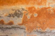 Italy, old facade, orange - JUNF01084