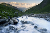 Fresh mountain river, Svaneti, Georgia - CUF38886