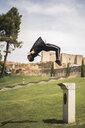 Man doing parkour in a park - ACPF00087