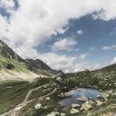 Switzerland, Grisons, Davos, hiking area Flueela Pass - DWIF00939