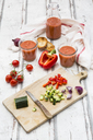 Preparing Gazpacho - LVF07279