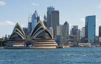 Sydney Opera House and waterfront, Sydney, Australia - CUF43266