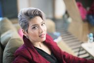 Portrait confident businesswoman - CAIF20986