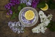 Preparing lilac sirup - LVF07301