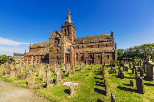 Great Britain, Scotland, Orkney, Kirkwall, St Magnus Cathedral - THA02189