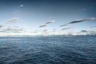 Iceland, Seyoisfjoerdur, coast, ocean and clouds - DMOF00044