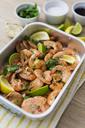 Shrimps in baking dish - GIOF03982