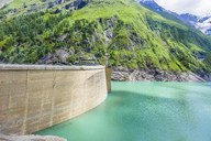 Germany, Salzburg State, Zell am See District, Mooserboden dam - AIF00509