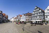 Germany, Lower Saxony, Celle, Market Square - KLRF00639