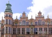 Poland, Pomerania, Gdansk, Facade of armory - KLRF00645