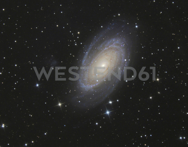 Astrophotography, Spiral galaxy Messier 81 or Bode's Galaxy - THGF00065
