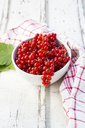 Bowl of red currants - LVF07344