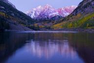 Maroon Bells, Maroon Lake, Aspen, Colorado, United States of America - ISF18616