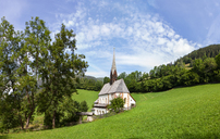 Austria, Carinthia, Bad Kleinkirchheim, Church St. Katharina im Bade - WWF04246