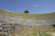 Greece, Epirus, Amphitheatre of Dodona - MAMF00167
