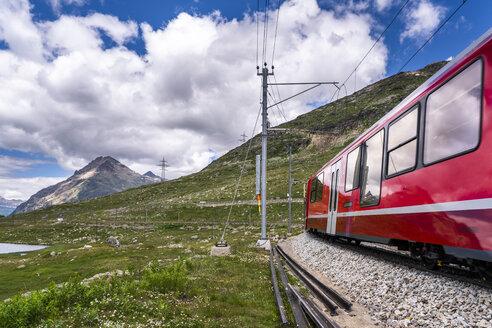 Switzerland, Graubuenden Canton, Bernina railway - STS01702