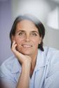 Portrait of pensive mature businesswoman - PNEF00849