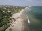 Indonesia, Bali, Aerial view of beach - KNTF01180