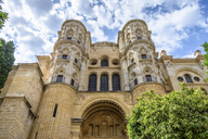 Exterior view of the Cathedral of Malaga, Malaga, Andalusia, Spain. - MINF07467