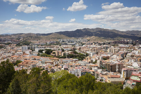 Spain, Andalusia, Malaga, cityview - WIF03570