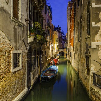 Italy, Venice, a canal by night - GIOF04182