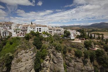 Spain, Malaga, Ronda with Tajo de Ronda, Jardines de Cuenca - WIF03584