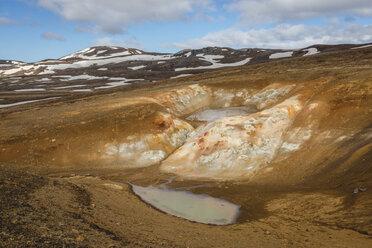 Iceland, Myvatn, Krafla, crater - KEBF00878